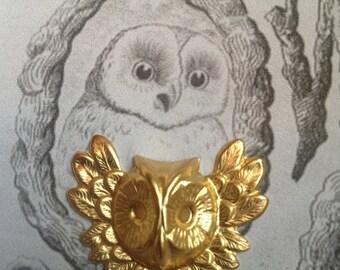 Winged Owl Head (3 pc)