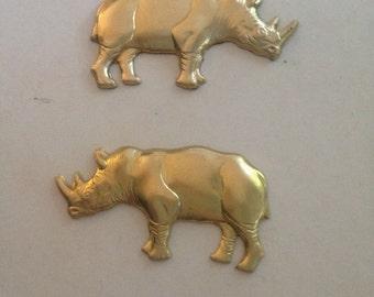 Small  Rhinoceros (1 pair )