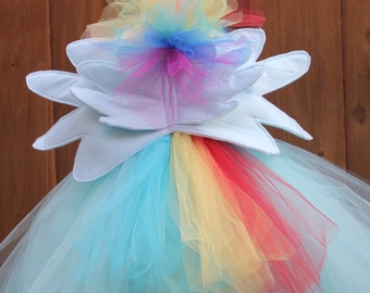 Rainbow dash felt wings - My Little Pony wings - Rainbow Dash Cosplay - Pony wings  Pegasus wings
