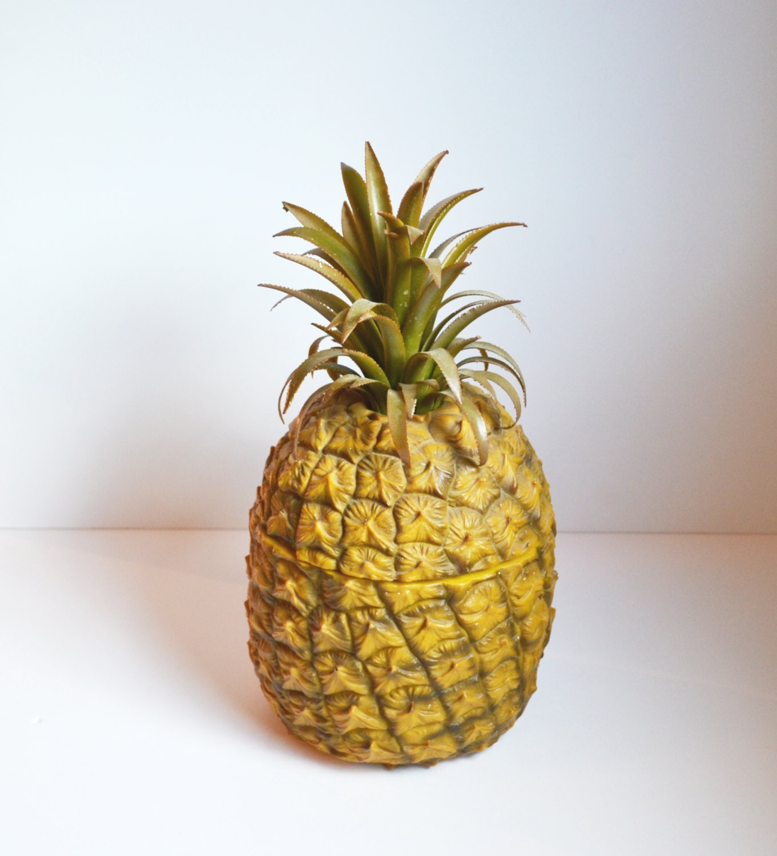 seau glace vintage ananas ananas en plastique seau glace. Black Bedroom Furniture Sets. Home Design Ideas