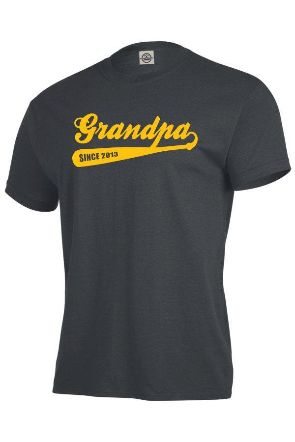 Personalized grandpa shirt grandpa baseball shirt gifts for for Custom personal trainer shirts