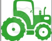 Tractor wall decal, several size options- Vinyl Wall Art-vinyl decal  Over 60 color options