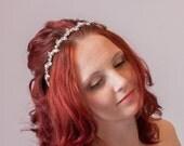 Wedding Tiara, Bridal Headbands - tiara, headpiece, wedding hair accessory, crystal hairband, pearl aliceband, bridal Hair Accessories