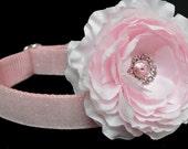 Dog Collar Flower Add-on Pink Dog Collar Flower