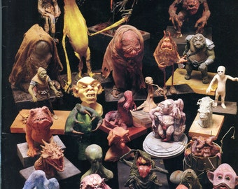 October 1990  - Smithsonian Magazine - Creepy Creatures from the Masters of Make Believe