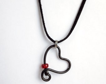Bicycle Lovers Necklace , Heart Necklace , Bicycle Jewelry , Bicycle Accessories , Recycled Bicycle