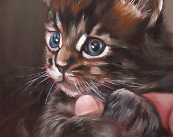 Unique cat gift | Etsy