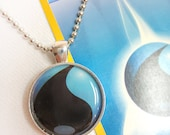 Water Energy Pokemon Card Pendant Necklace