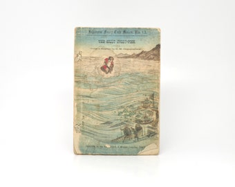 Antique Japanese Fairy Tale Paperback Book 1800s