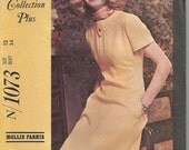 Vintage 1960's Mod Dress Sewing Pattern McCall's 1073 34 Bust Uncut