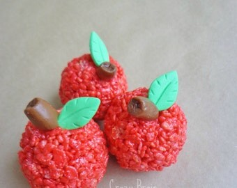 Apple Rice Krispie Treats (6)
