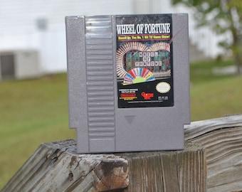 Vintage Nintendo Game Wheel Of Fortune Game (NES) By GameTek 8 bit