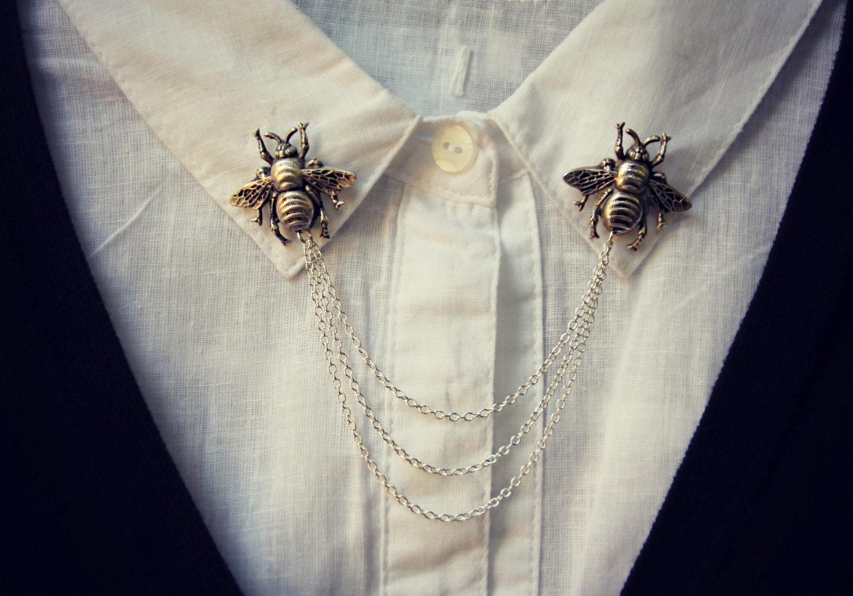 Bee Collar Pins Collar Chain Collar Brooch Lapel Pin Bee. Black Diamond Anniversary Band. Black And White Diamond. Cushion Diamond. Intaglio Pendant. His N Hers Wedding Rings. Handmade Diamond. Vintage Chains. Ball Beads