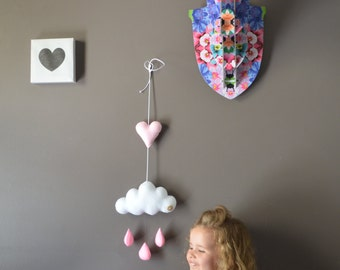 Handmade Children's mobile/nursery decor item