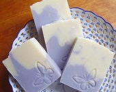 Lavender Coconut Milk Soap -  Luxury handmade soap with Shea and Cocoa Butter -  Handmade in BC, Canada