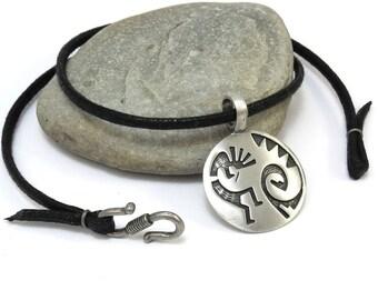 Native Kokopelli Jewelry - Kokopelli Necklace, Southwestern Jewelry - Fertility Necklace