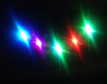 Add LED lights to any Flower Accessory LED flower Halo