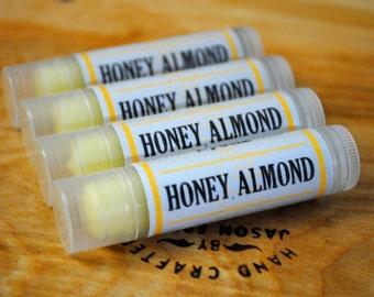 Honey Almond Lip Balm - Signature Flavor