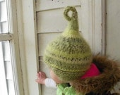 Baby elf costume, kids fall elf hat in size newborn to adult sizes