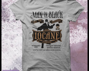"Princess bride tshirt ""Iocane Powder"" Mens tshirt"