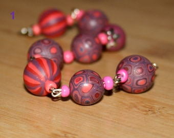 Intuition - Polymer Clay Bracelet