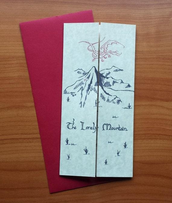 Hobbit-Themed Invitations