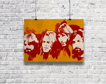 PINK FLOYD Illustration