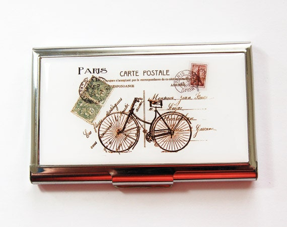 Bicycle card case business card case business card holder like this item colourmoves Choice Image