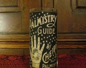 Palmistry: Parchment Collection Candleholder