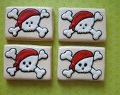 Skull and Crossbones Sugar Cookies - 1 Dozen