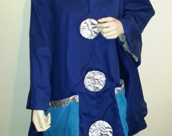 Vintage Theatre Costume with giant buttons