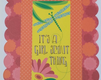 Girl Scout Craft Scrapbook Pad 10 Punch Out Sheets