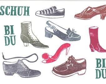 Postcard Shoes