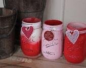 Mason Jars: Happy Heart Day!