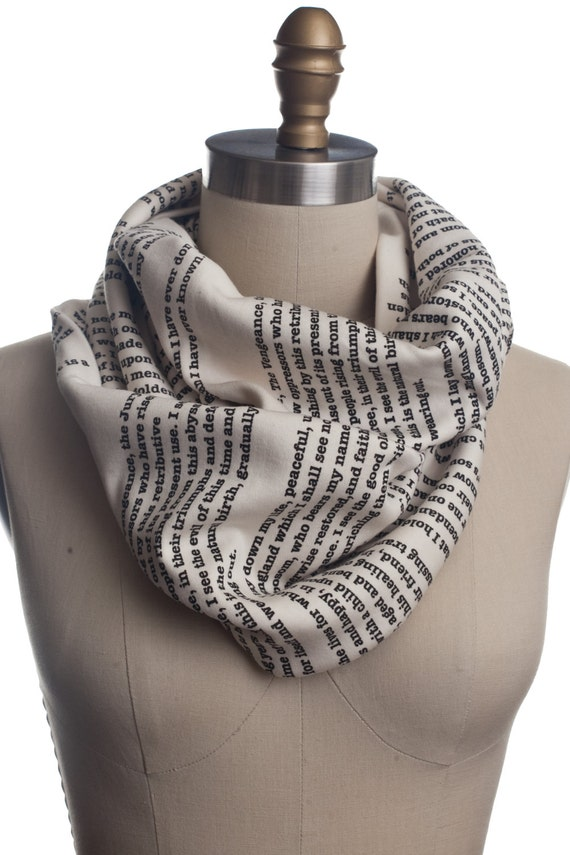 A Tale of Two Cities Book Scarf
