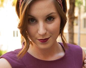 Floral Boho Headband, Women's Hair Accessories, Cute Hair Wrap, Floral Hairband
