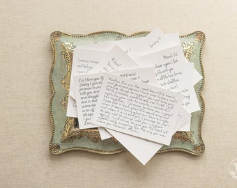 Print Your Vows - Love Letters Designed, Printed, Mounted