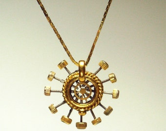 Steampunk Clockwork Pendant