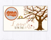 10 Custom Fall Scratch Off Cards - Bridal Shower Game - Bachelorette Party Games