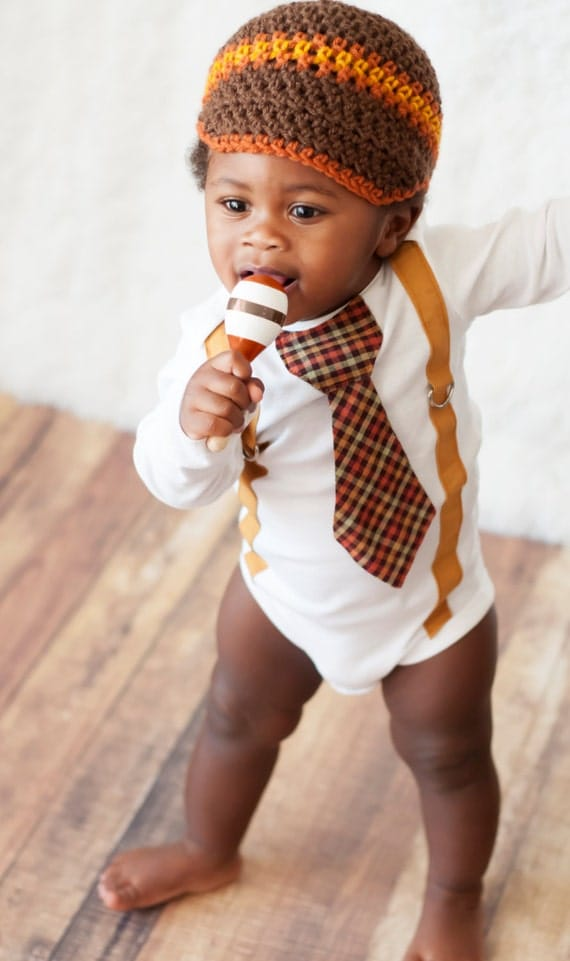 Baby Boy Tie one piece bodysuit, suspenders and tie orange, brown, mustard, Fall, Thanksgiving, Photo Prop, Baby Boy Fashion, Birthday shirt