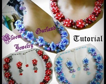 Bloom Garland Jewelry Tutorial