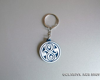Inspired Doctor Who, Seal of Rassilon 2D Keychain