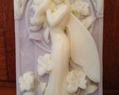 fairy angel arch handmade goatmilk soap lavender scent