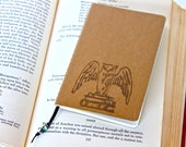 Owl Journal Mini Notebook Eco Friendly Book Diary Reader Gift