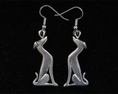 Greyhound Earrings - Whippet Galgo Earrings