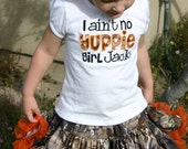 Shirt and Full Skirt Daddy's Girl REALTREE Camo Applique Shirt/ Photo Prop Hunter Orange