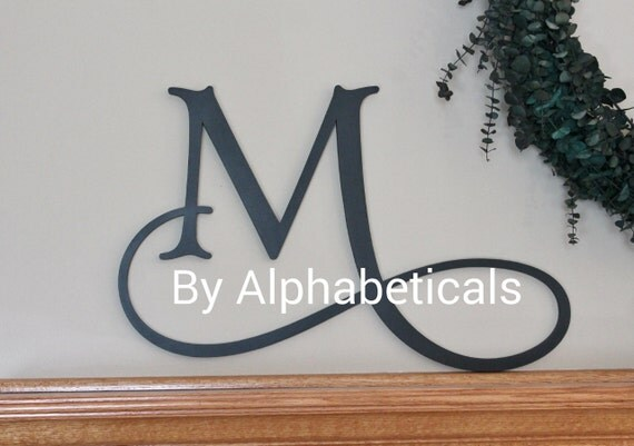 Items similar to decorative wall letters wall decor large wooden letters for nursery wooden - Decorative wooden letters for walls ...