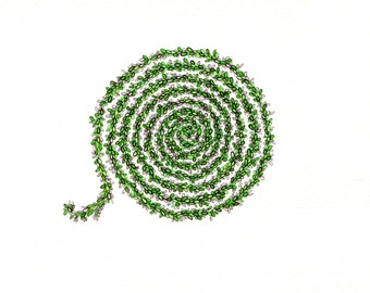 """Spiral art print of an original drawing available 5x7"""" or 8x10"""""""