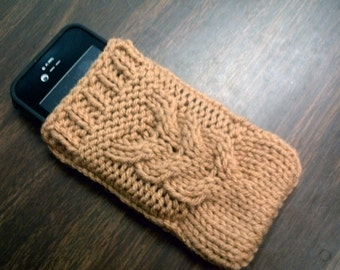 Knitted iPhone Sock - Cozy