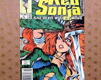 Vintage Marvel Comics - Red Sonja - Vol 3 issue 4 - 1984
